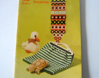 Vintage Patons Beehive Knitting Crochet Toys and Novelties, Book No. 141