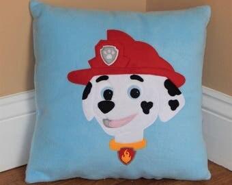 Paw Patrol Pillow ~ Marshall