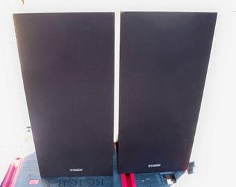 Vintage 1960's Fisher MS 107 Speakers