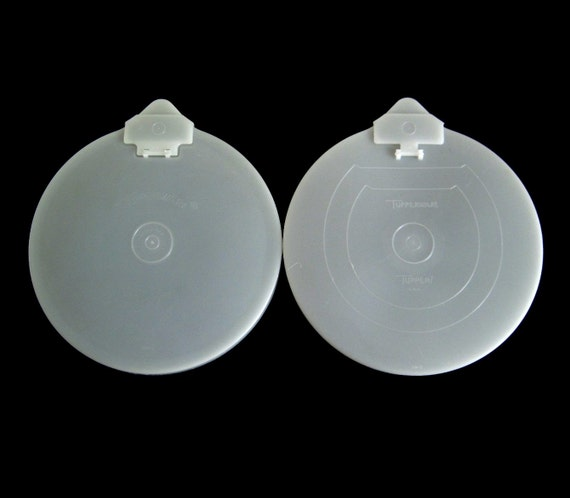 Tupperware Mix 'n' Stor Lids, Mixing Bowl Measuring Cup Covers Batter Bowl Containers 697 502