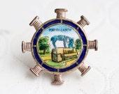 Port Elizabeth Lapel Pin - Vintage Brooch - Souvenir from South Africa