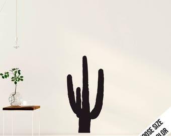 Cactus Wall Decal - Desert Decoration - Vinyl Sticker