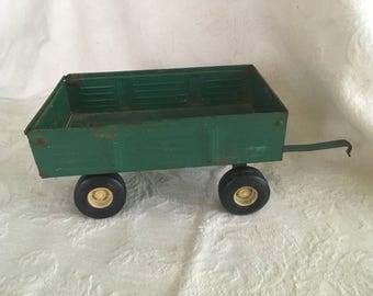 Antique metal wagon