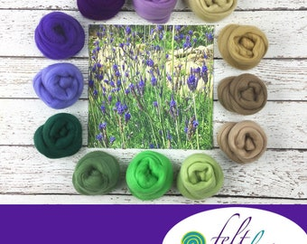 Lavender Dream - May's Featured Merino Wool Color Palette