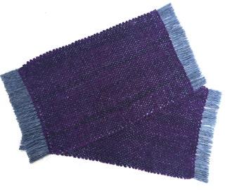 Purple Velvet Chenille RugMug MugMat Coasters