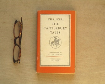Penguin Classic The Canterbury Tales Chaucer penguin book