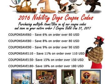 2017 Nobility Dogs Coupon Codes