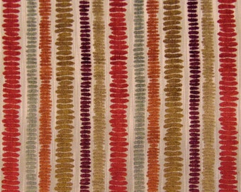 Warwick Harvest  Abstract Minimalist Lines Scratches Primitive Modern Sofa Upholstery Fabric Chenille Drapery Curtains