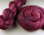 Multi-skein Set, Luxury Handspun Yarn - MISTAKEN IDENTITY - Handpainted 60/40 Polwarth/Silk, 2 ply Lace weight, 1210 yards