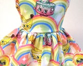 Shopkins Rainbow Sleeveless Dress for your 18 Inch Doll E