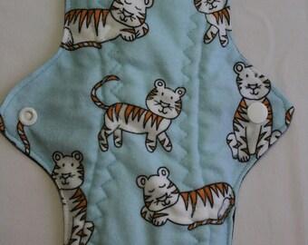 Kiki Mama Cloth Menstrual Pad Size Regular Tigers