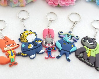 Zootopia Key Holder or Necklace
