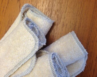 Organic wash cloth 4-pack
