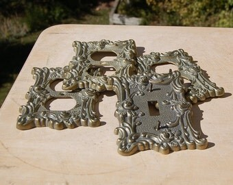 Light Switch Covers Shabby Chic Ornate
