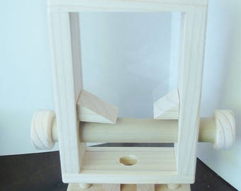 Woodworking -  Gumball Machine - Hand Crafted -Natural Wood -  Family Fun - Gifts - Teachers - Office