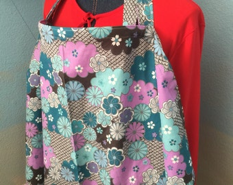 nursing cover breastfeeding cover up apron hider cotton newest print retro floral
