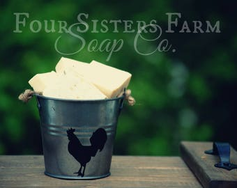 Dollar Soap Samples, Try Handmade Soap, Four Sisters Farm Soap Bar Challenge