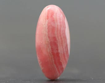 Trillion Pink Rhodochrosite Natural Gemstone Cabochon Pendant & Jewelry Stones of Joy Love and Peace Natural Loose Polished Rocks (CA8301)