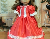 Silk Dupioni Heirloom Dress for Dianna Effner 13 Inch Little Darling Doll