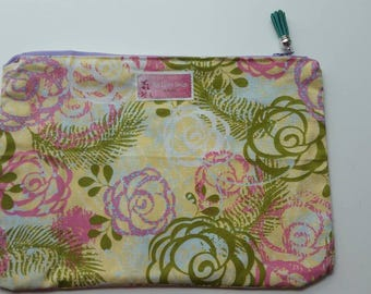 Floral Make Up Bag / Pouch / Cosmetic Bag