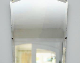 Art Deco Bevelled Edge Mirror