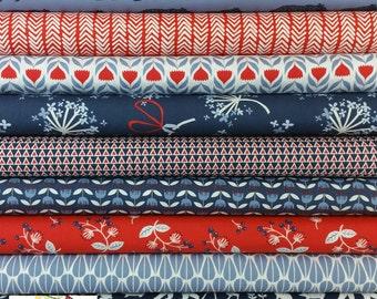 Simple Life ORGANIC COTTON Bundle from Monaluna Fabric - 9 Fabrics