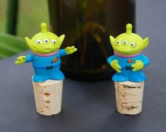 Toy Story Alien Wine Bottle Stoppers Disney