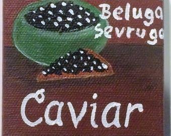 Caviar Miniature Painting