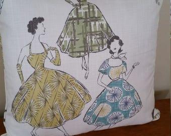 Pattern Girls  20 X 20 Pillow Cover