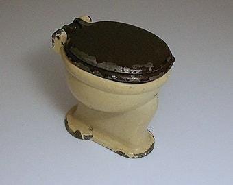 Vintage Toy Dollhouse Toilet   1920's