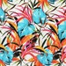 Swimsuit Fabric- Tropical Palm Plants (1 yard)