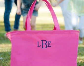 X-large Carry-all Tote personalized - Fill these with lots of Goodies from You and ME