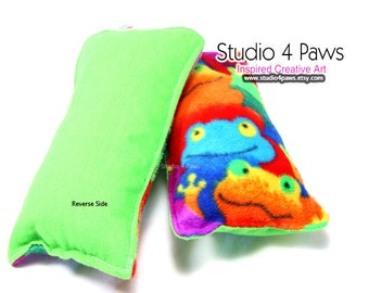 Guinea Pig Luxury Large Pillows - (Frogs)