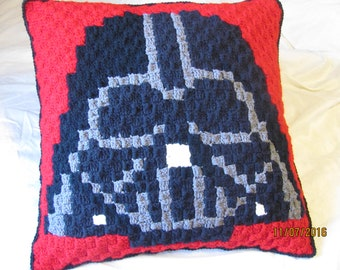 Darth Vader Inspired Lounge Pillow - Made to Order