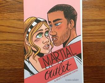 Martial Outlet Romance Comic Book