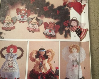 Simplicity 7549, Christmas ornaments and angels