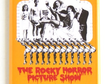 Rocky Horror Picture Show Movie Poster Fridge Magnet