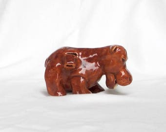 Baby Hippo Clay Whistle