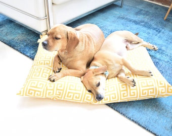 Large Dog Bed-Dog Bed Pillow-Dog Bed Cover-Modern Dog Bed-Dog Bed Print-Dog Bedding-Designer Dog Bed-Floor Pillow-Floor Pillow Cover