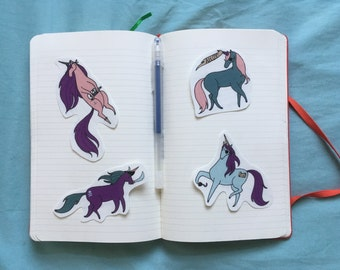 Pirate Unicorn Stickers