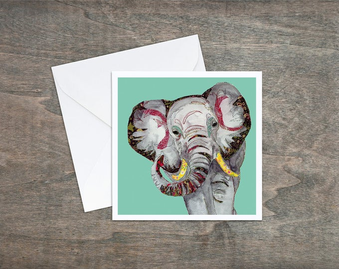 Elephant - Art Card
