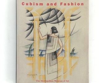 CUBISM AND FASHION 1998 Richard Martin Hardcover Chanel