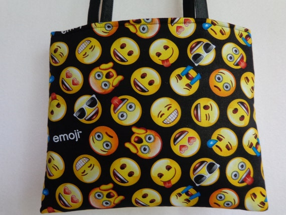Emoji Tote Bag Party Favor Bag