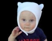 Finn Hat Adventure Time Inspired Winter Wear, Baby, Infant, Toddler