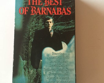 Dark Shadows the Best of Barnabas VHS