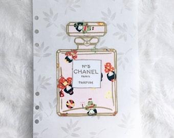 Kimono Dolls Chanel Bottle Dashboard | Filofax stationary
