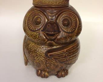 McCoy Owl Cookie Jar, Owl Jar, McCoy