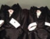 Set of two custom made tuxedos