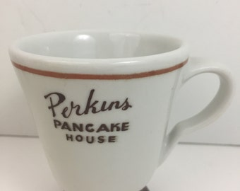 Vintage Perkins Pancake House Collectable Retro Restaurant