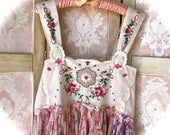 Vintage Garden Embroidered Camisole Top